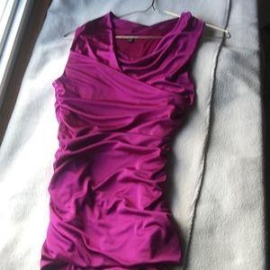 NWOT silk dress top